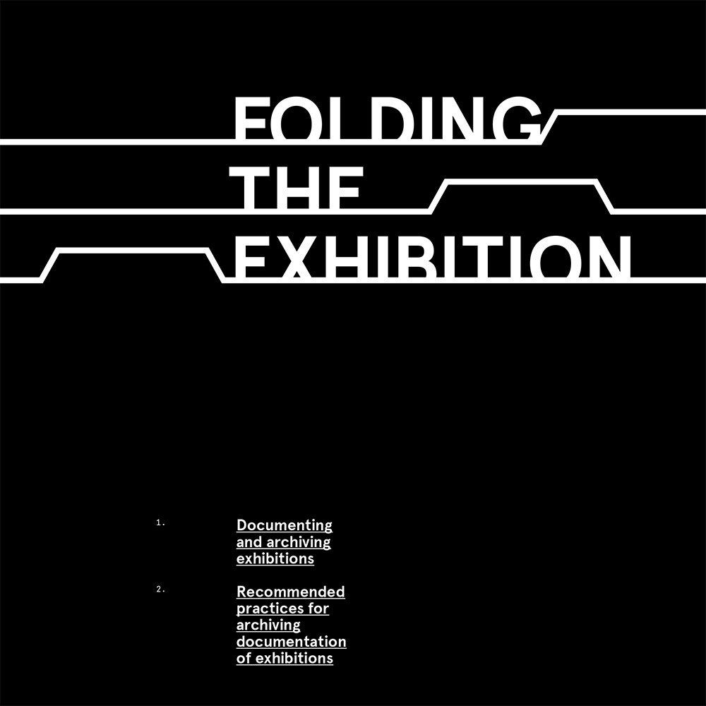 Folding The Exhibition