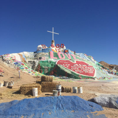 About Salvation Mountain
