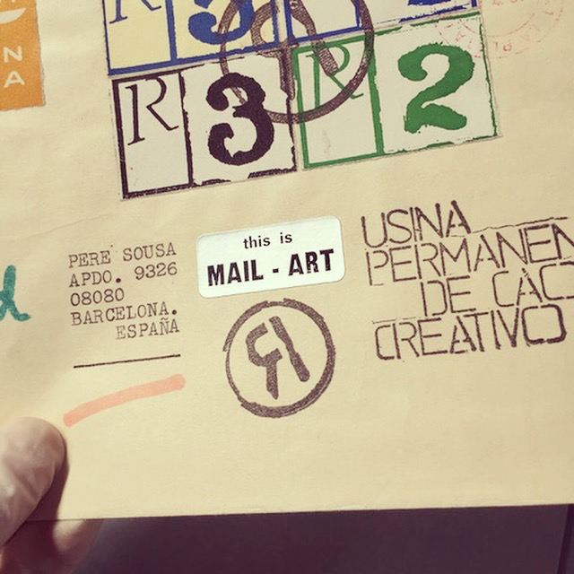 Sampler #2. This is Mail Art